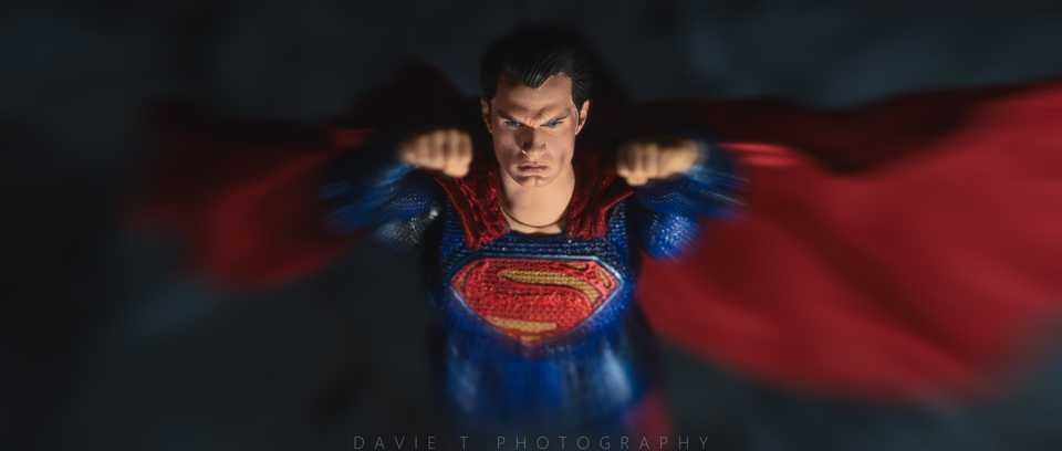 Mafex Superman 2.0 Repaint
