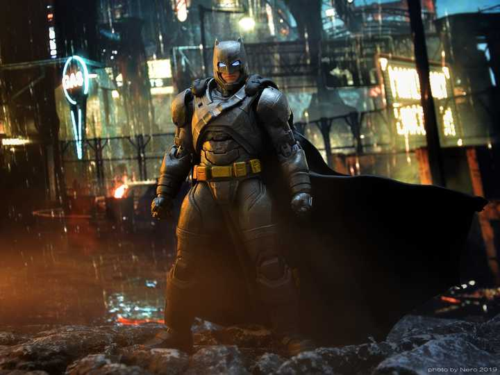 DC Films Armored Batman