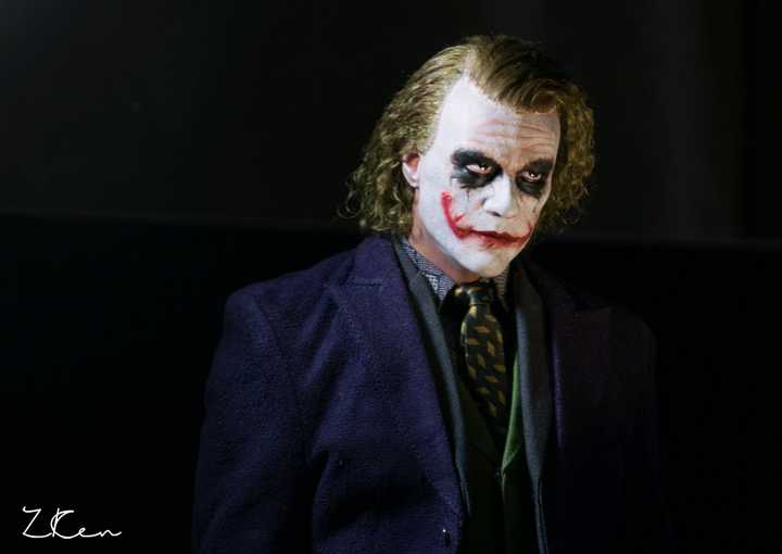 The Joker 1/4th Scale With Root Hair