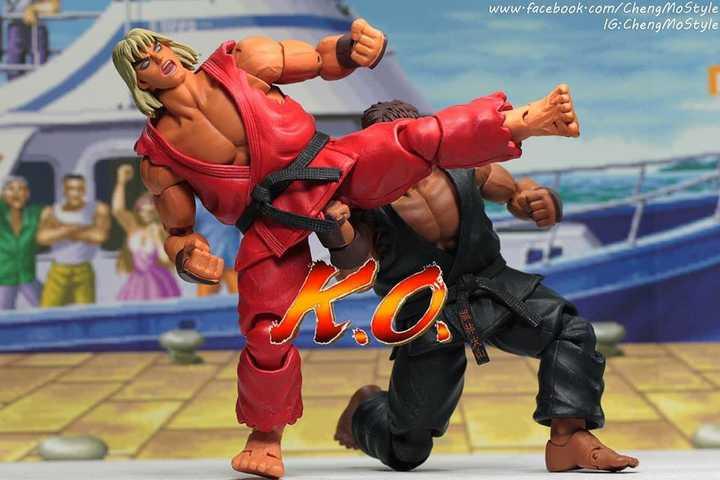 「ChengMoStyle」Street fighter Evil Ryu vs Ken
