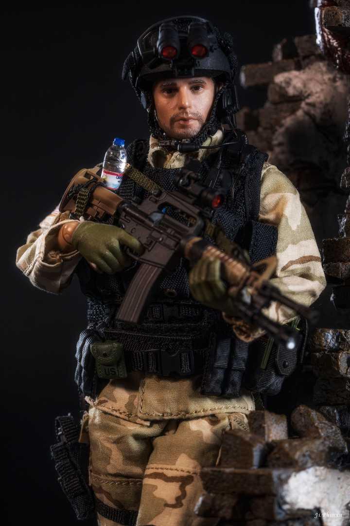 US Delta Special Forces Sergeant Soldier