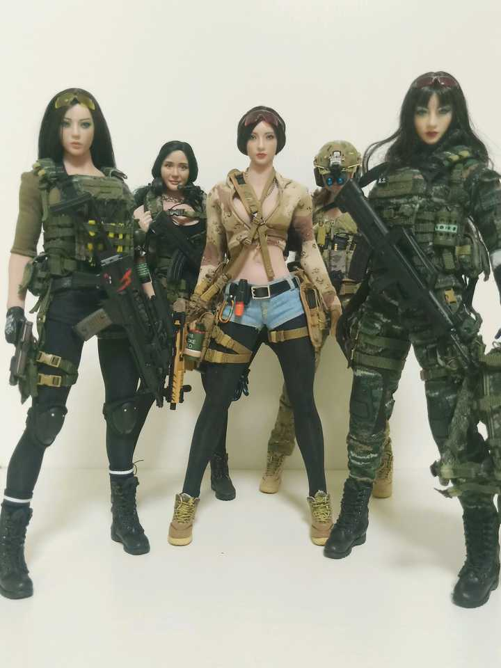 Share Some Of My DIY Female Soldier