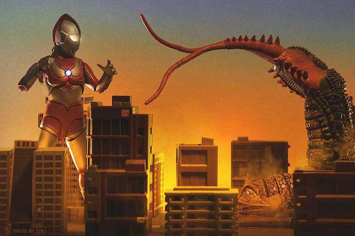 SHF Ultraman Twintail