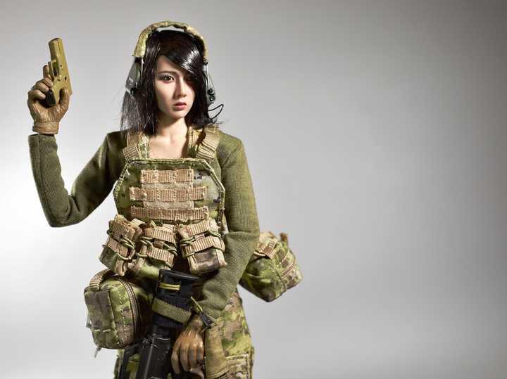 Random DIY Female Soldiers