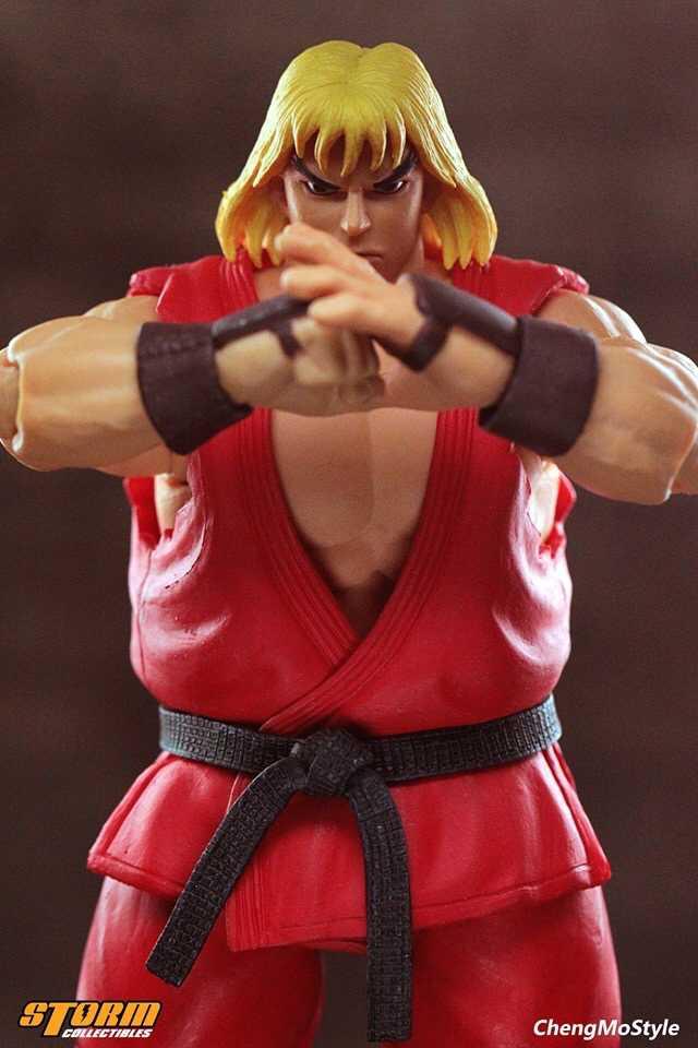 「ChengMoStyle」Street Fighter II Ken 1/12 Scale Figure