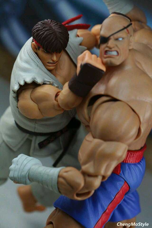 「ChengMoStyle」Street Fighter II - Ryu VS Sagat