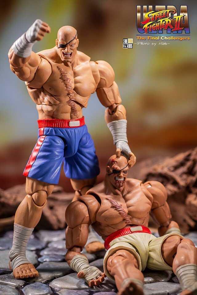 Street Fighter II - Sagat VS Sagat