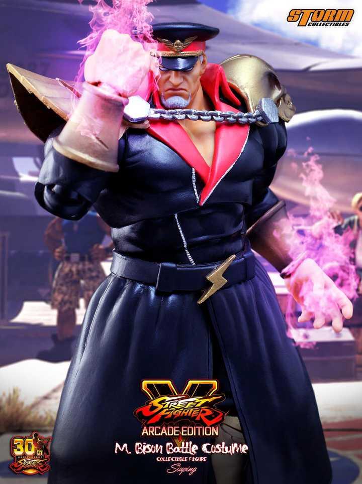 Street Fighter V - M. Bison Battle Costume