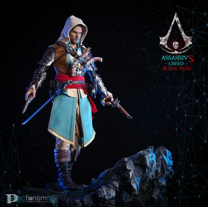 Assassin's Creed IV: Black Flag Edward Kenway 1/6 Scale Figure