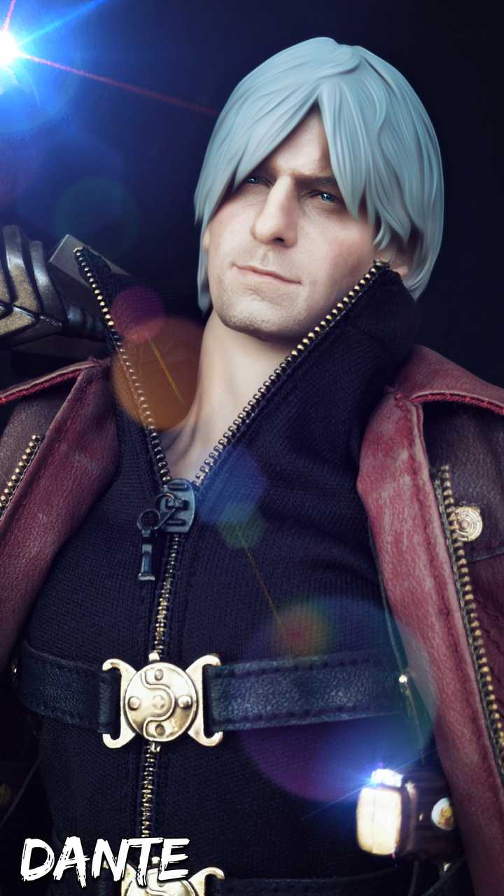 Devil May Cry Dante 1/6 Scale Figure Collections Show