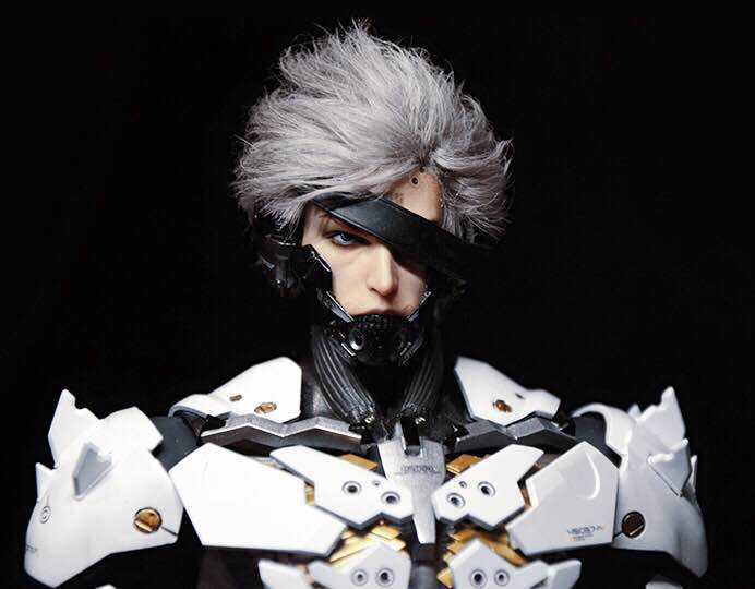 「Cola Repaint」Metal Gear Raiden Root Hair Version