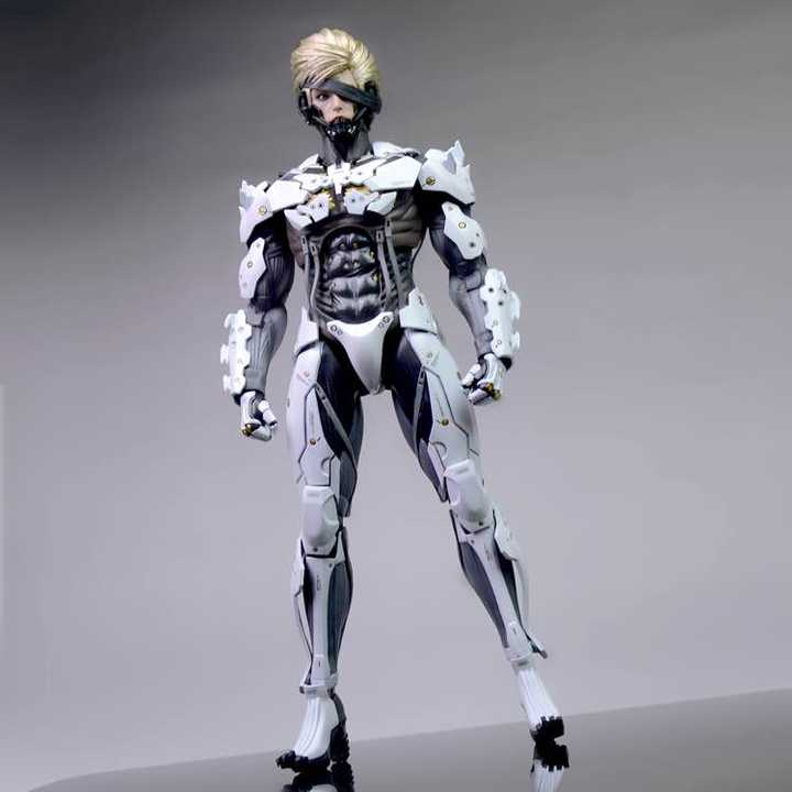 「Cola Repaint」Metal Gear Raiden White Version