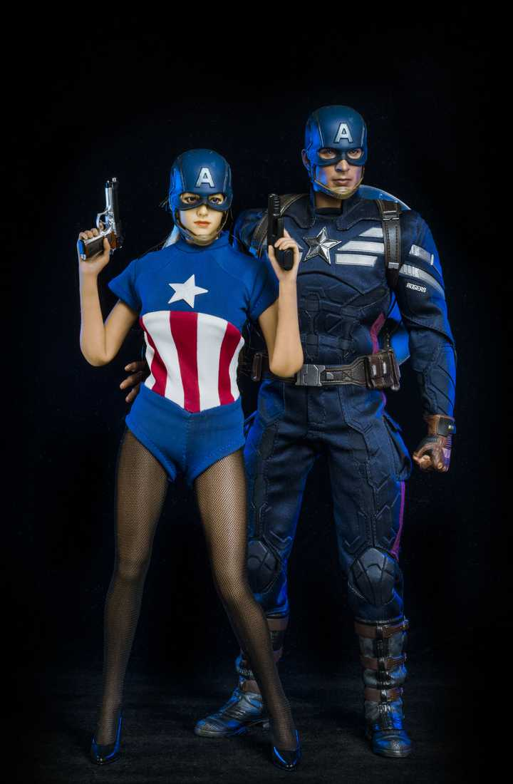 Captain America and His Sister