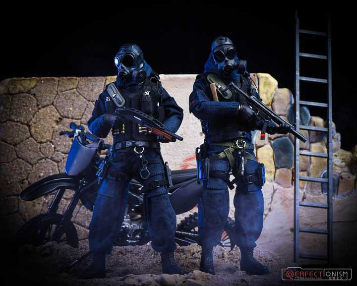 British Special Forces Pocket Elite Series SAS CRW 1/12 Figures