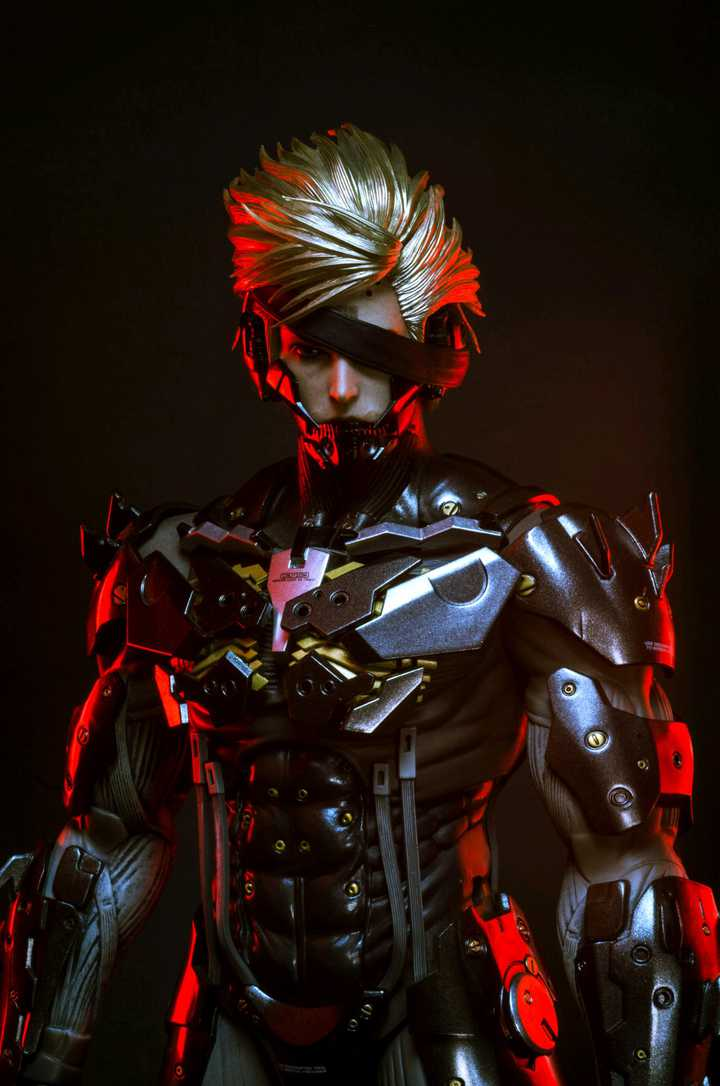 Hot Toys Raiden 1/6 Collectible Figure