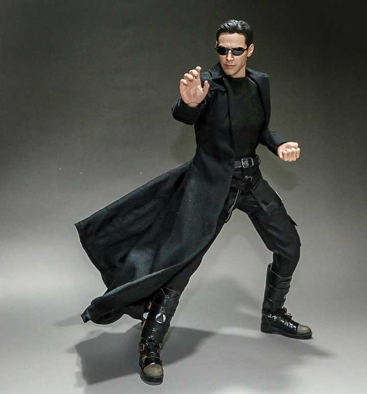The Matrix Neo Kung Fu