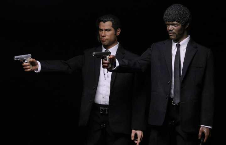 Pulp Fiction Vincent Vega & Jules Winnfield