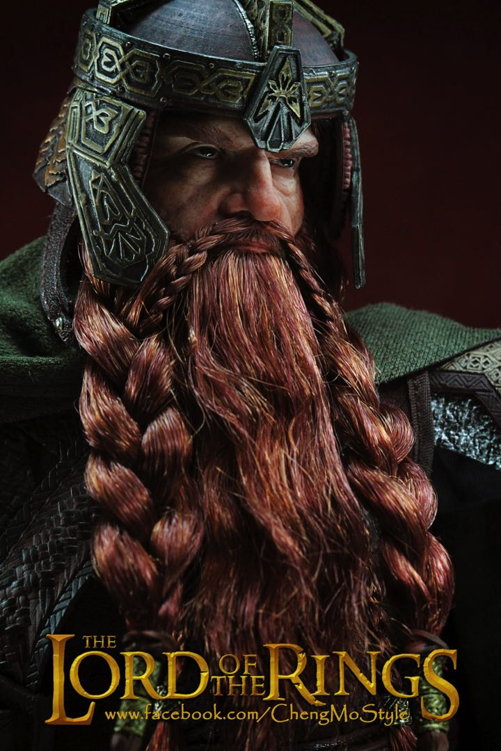 「ChengMoStyle」Asmus Toys LOTR Gimli and The Fellowship