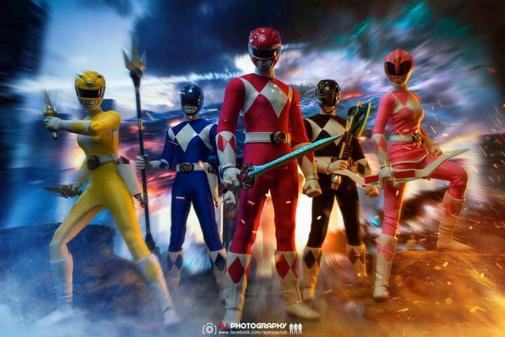 Ace Toyz 1/6 Mighty Morphin Power Rangers
