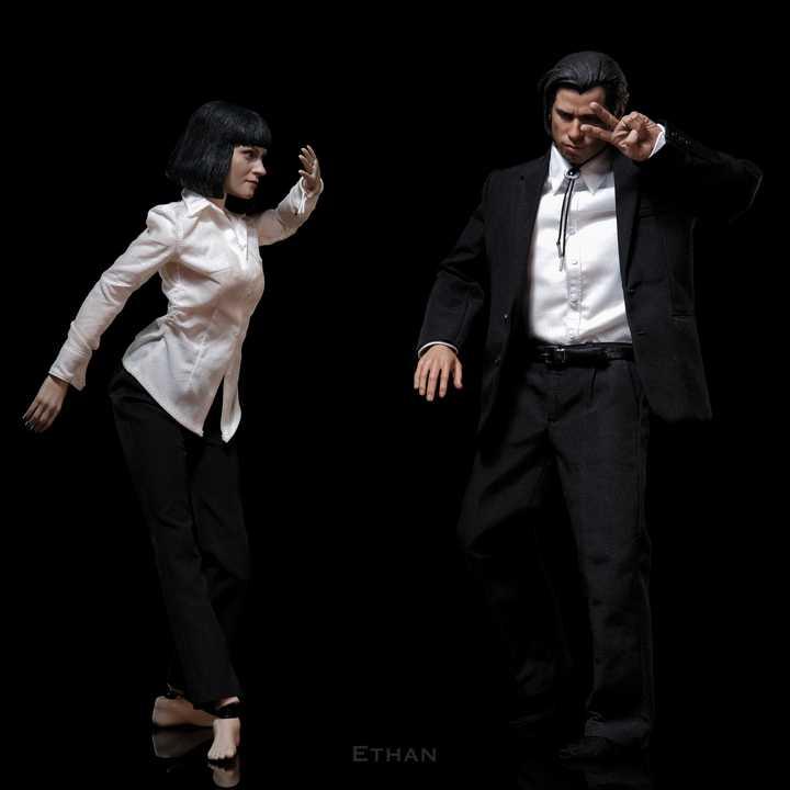 Pulp Fiction (1994) Vincent Vega & Mia