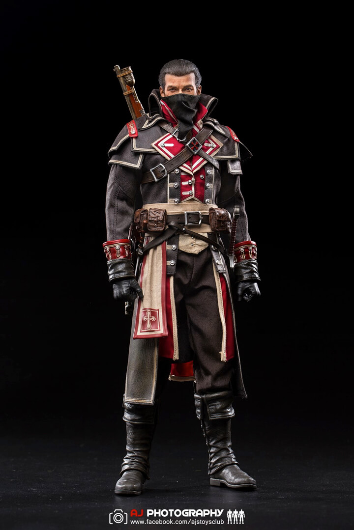 Damtoys Assassin's Creed Rogue 1/6th scale Shay Patrick Cormac