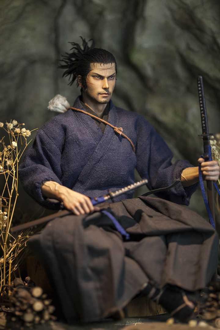 Miyamoto Musashi 1/6 Custom Figure