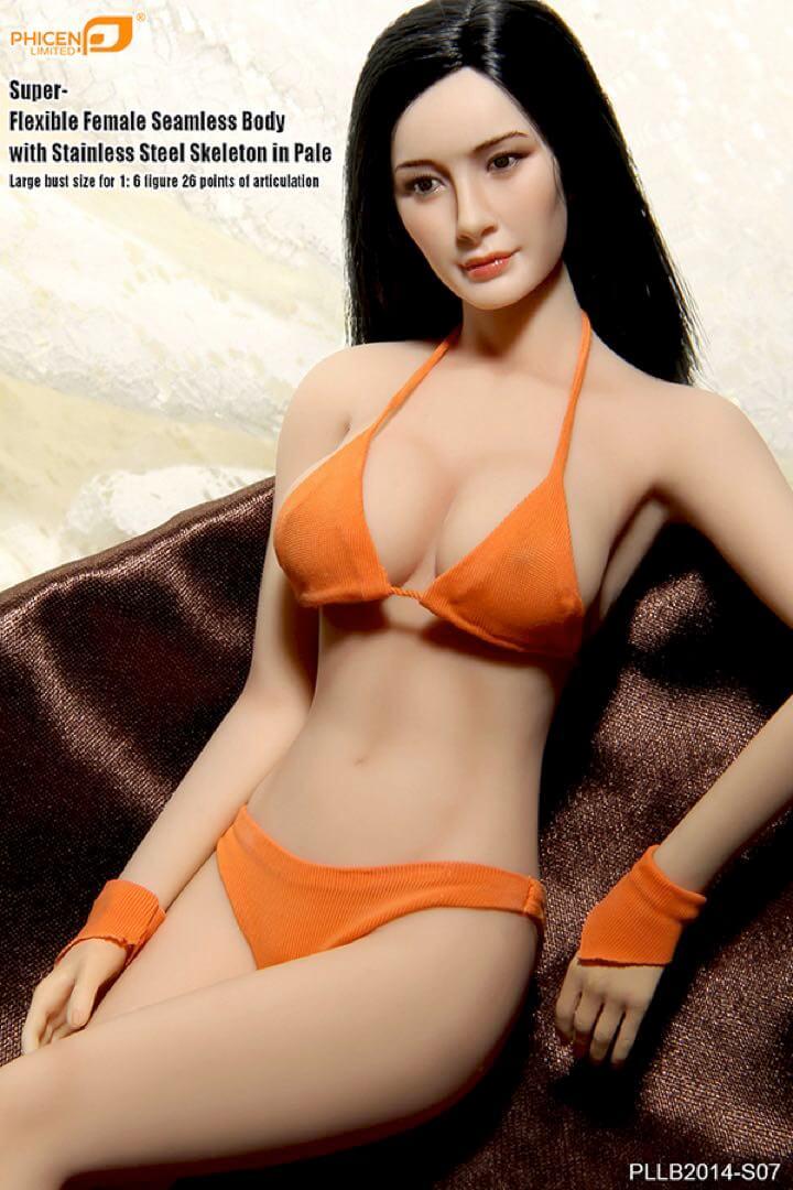 Super-Flexible Female Seamless Body for 1//6 HOT FIGURE TOYS